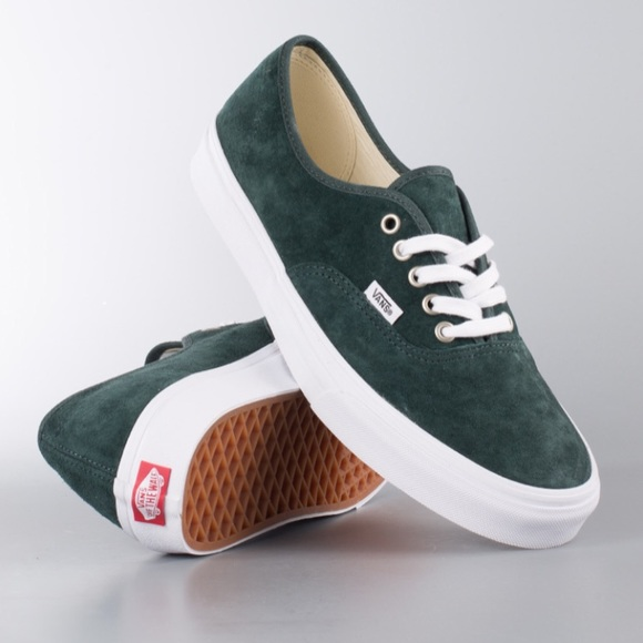 953d50e733a5f4 NWT Vans Authentic Pig Suede Spruce W 6.5